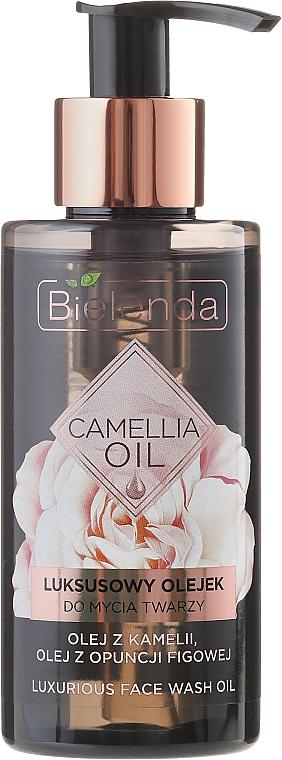 Luxuriöses, verjüngendes Gesichtsserum mit Mikroperlen - Bielenda Camellia Oil Luxurious Cleansing Oil