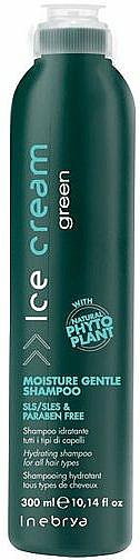 Feuchtigkeitsshampoo mit Phytoplant für alle Haartypen - Inebrya Green Moisture Gentle Shampoo