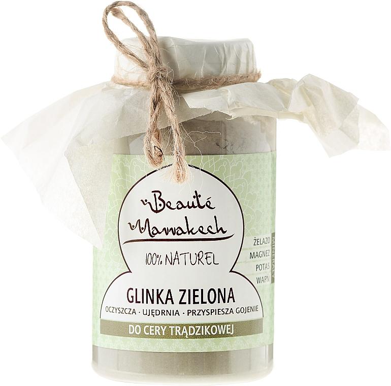 Marokkanische grüne Tonerde für Aknehaut - Beaute Marrakech Green Clay