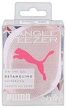 Düfte, Parfümerie und Kosmetik Kompakte Entwirrbürste Rose Puma - Tangle Teezer Compact Styler Detangling Hair Brush Rose Puma