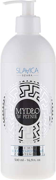 Flüssige Handseife mit Panthenol - Slavica Soap
