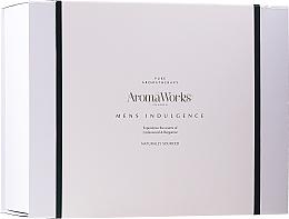 Düfte, Parfümerie und Kosmetik Gesichts- und Körperpflegeset - AromaWorks Men's Indulgence Gift Set (Duschgel 300ml + After Shave Lotion 100ml + Duftkerze + Handtuch)