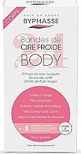 Düfte, Parfümerie und Kosmetik Enthaarungswachstreifen für Beine und Körper - Byphasse Cold Wax Strips Legs & Body