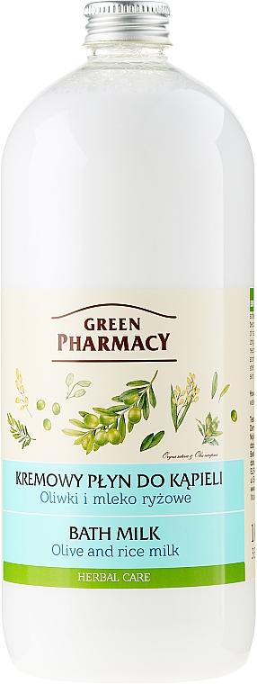 """Bademilch """"Oliven und Reismilch"""" - Green Pharmacy"""