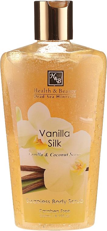 Körperpeeling mit Vanille und Kokosnuss - Health and Beauty Soapless Body Peeling — Bild N1