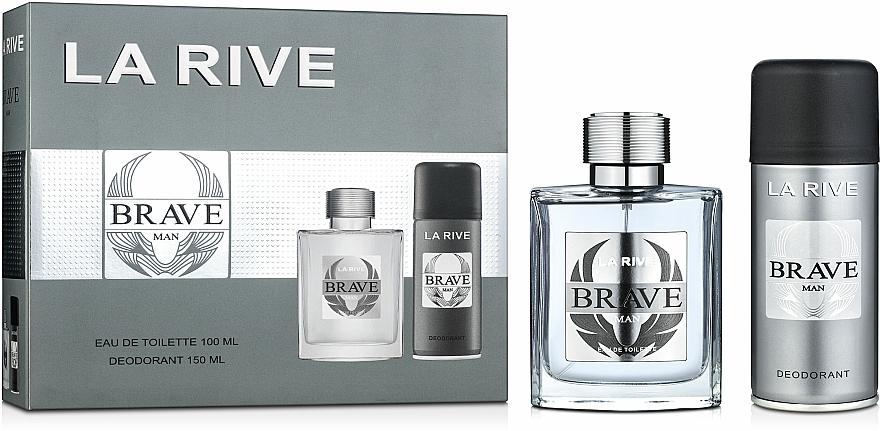 La Rive Brave Man - Duftset (Eau de Toilette/100ml + Deodorant/150ml)