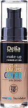 Düfte, Parfümerie und Kosmetik Flüssige Foundation - Delia Cosmetics Stay Flawless Cover