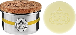 Düfte, Parfümerie und Kosmetik Naturseifen Lemon in Schmuck-Box - Essencias De Portugal Aluminum Jewel-Keeper Lemon Soap Tradition Collection