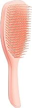Düfte, Parfümerie und Kosmetik Haarbürste pfirsichorange - Tangle Teezer The Wet Detangler Peach Glow Large