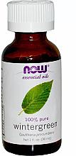 Düfte, Parfümerie und Kosmetik Ätherisches Öl Wintergrün - Now Foods Essential Oils 100% Pure Wintergreen