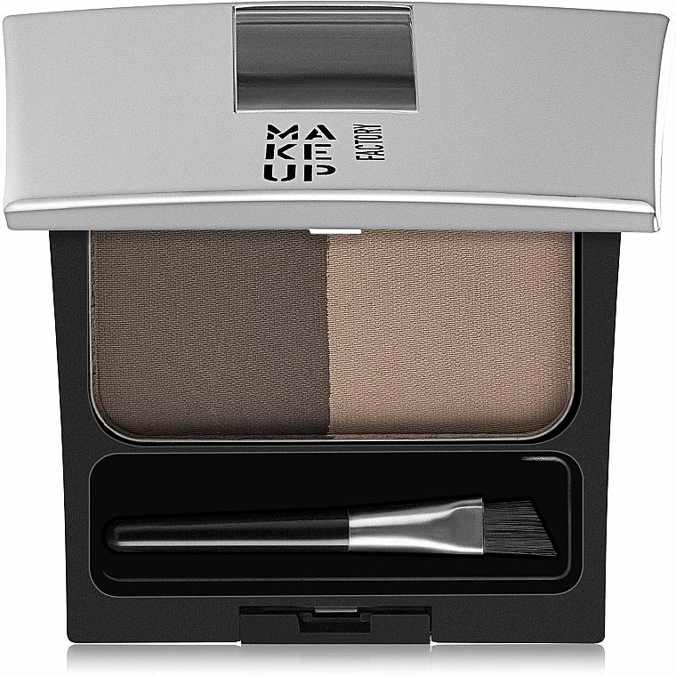 Augenbrauenpuder Duo - Make Up Factory Eye Brow Powder