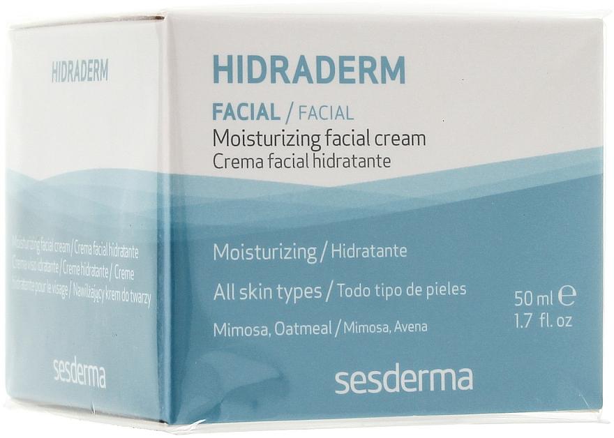 Feuchtigkeitsspendende Gesichtscreme - SesDerma Laboratories Hidraderm Facial Cream
