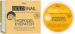 Düfte, Parfümerie und Kosmetik Hydrogel Augenpatches mit Goldpartikeln und Schneckenschleim-Extrakt - Ekel Ample Hydrogel Eyepatch