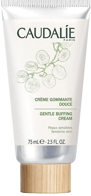 Sanfte Gesichtspeeling-Creme für empfindliche Haut - Caudalie Cleansing & Toning Gentle Buffing Cream