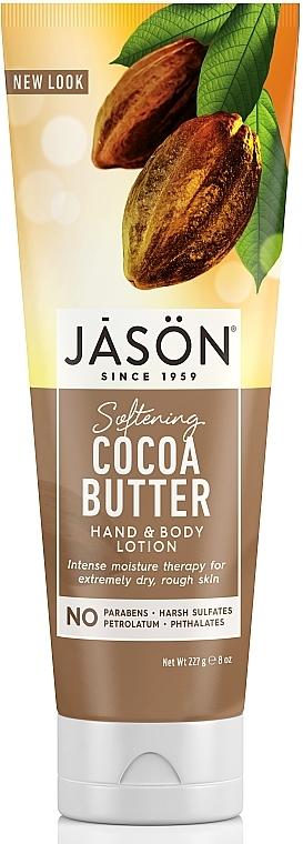 Hand- und Körperlotion mit Kakaobutter - Jason Natural Cosmetics Cocoa Butter Lotion