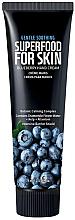 Düfte, Parfümerie und Kosmetik Hand- und Nagelcreme mit Blaubeere - Superfood For Skin Hand Cream Blueberry