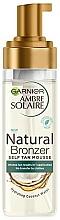 Düfte, Parfümerie und Kosmetik Selbstbräunungsmousse - Garnier Ambre Solaire Natural Bronzer Intense Clear Self Tan Mousse