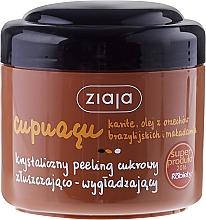 Düfte, Parfümerie und Kosmetik Körperpeeling mit Kristallzucker - Ziaja Sugar Body Scrub