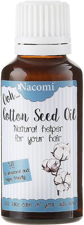 Haaröl mit Baumwollsamen - Nacomi Natural