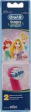 Düfte, Parfümerie und Kosmetik Austauschbare Zahnbürstenköpfe für elektrische Kinderzahnbürste EB10 Princess 2 St. - Oral-B Stages Power Disney