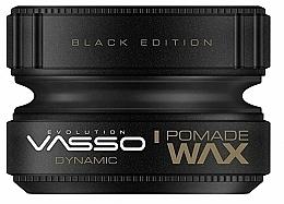 Düfte, Parfümerie und Kosmetik Modellierende Haarpomade mittlerer Halt - Vasso Professional Hair Styling Pomade Wax Black Edition Dynamic