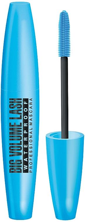 Wasserfeste Mascara für voluminöse Wimpern - Eveline Cosmetics Big Volume Lash Professional Mascara