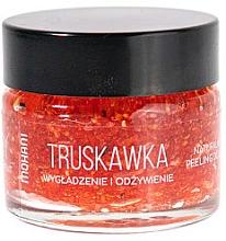 Düfte, Parfümerie und Kosmetik Lippenpeeling mit Rohrzucker und gemahlenen Erdbeersamen - Mohani Strawberry Smoothing And Nouriahing Lip Scrub