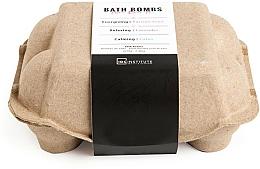 Düfte, Parfümerie und Kosmetik Badebomben-Set - IDC Institute Pure Energy Bath Bombs Lavender & Passion Fruit & Lotus (6x70g)