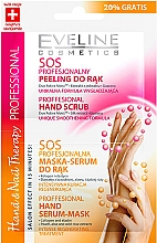 Düfte, Parfümerie und Kosmetik Handpeeling-Maske - Eveline Cosmetics Therapy