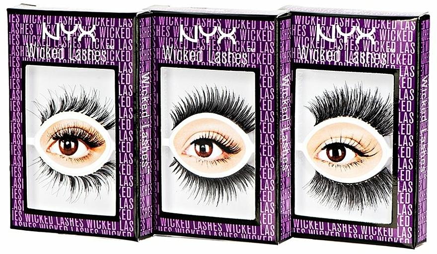 Künstliche Wimpern - NYX Professional Makeup Wicked Lashes