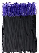 Düfte, Parfümerie und Kosmetik Wimpernbürste aus Silikon blau-schwarz - Novalia Group