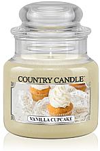 Düfte, Parfümerie und Kosmetik Duftkerze im Glas Vanilla Cupcake - Country Candle Vanilla Cupcake