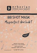 Tuchmaske für Gesicht mit Ginsengextrakt - Erborian BB Shot Mask — Bild N1