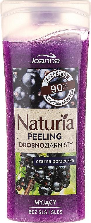 Duschpeeling mit schwarzem Johannisbeere Duft - Joanna Naturia Peeling