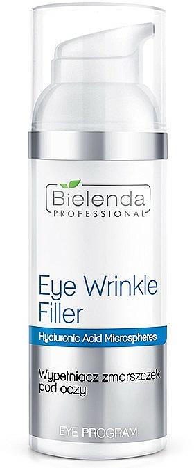 Falten-Filler Augencreme mit Hyaluronsäure - Bielenda Professional Program Eye Wrinkle Filler