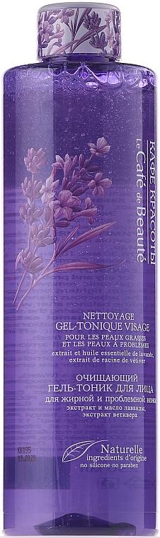 Gesichtsreinigungsgel-Tonikum mit Vetiver- und Lavendelextrakt - Le Cafe de Beaute Face Cleaning Gel-Tonic