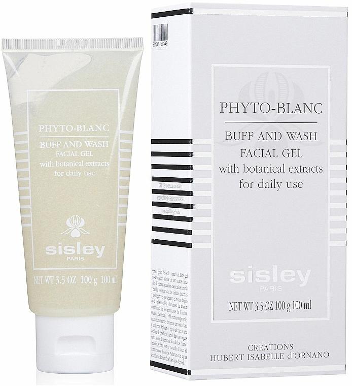Aufhellendes und reinigendes Gesichtsgel-Peeling mit Pflanzenextrakten - Sisley Phyto-Blanc Buff and Wash Facial Gel