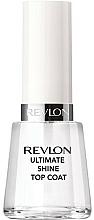 Glättender und hochglänzender Nagelüberlack - Revlon Ultimate Shine Top Coat — Bild N2