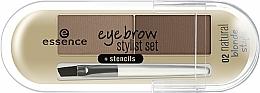 Düfte, Parfümerie und Kosmetik Augenbrauen Lidschatten - Essence Eyebrow Stylist