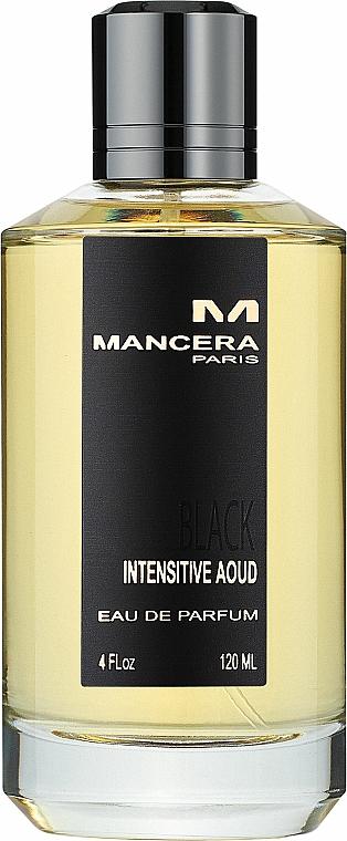 Mancera Black Intensitive Aoud - Eau de Parfum
