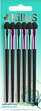 Düfte, Parfümerie und Kosmetik Lidschatten-Applikatoren 6 St. - Killys Botanical Inspiration Applicators