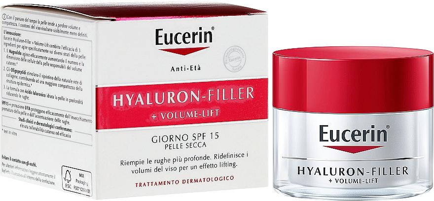 Tagescreme für trockene Haut - Eucerin Volume Filler Day Dry Skin