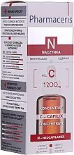 Düfte, Parfümerie und Kosmetik Glättendes und stärkendes Gesichtskonzentrat mit Vitamin C - Pharmaceris N Serum with Vit. C 1200mg Strengtening and Smoothing