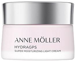 Düfte, Parfümerie und Kosmetik Leichte feuchtigkeitsspendende Gesichtscreme - Anne Moller HydraGPS Super Moisturising Light Cream