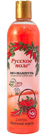 Stärkendes Bio Shampoo für schnelles Wachstum mit rotem Pfeffer - Fratti HB Russisches Feld