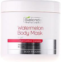 Düfte, Parfümerie und Kosmetik Gelmaske für den Körper mit Wassermeloneextrakt - Bielenda Professional Watermelon Gel Body Mask