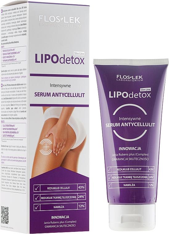 Intensives Anti-Cellulite Körperserum - Floslek Slim Line Intensive Anti-Cellulite Serum Lipo Detox
