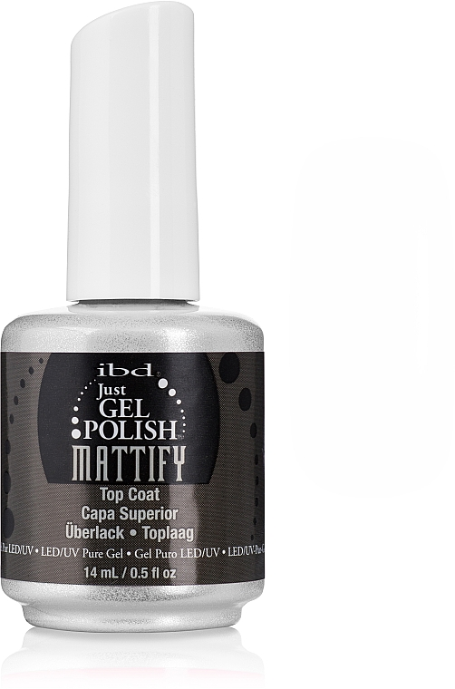 Gel Nagelüberlack - IBD Just Gel Mattify Top Coat