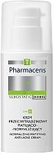 Düfte, Parfümerie und Kosmetik Normalisierende und mattierende Anti-Akne Tagescreme zur Porenverengung SPF 20 - Pharmaceris T Sebostatic Normalizing Matifying Anti-Acne Cream SPF20
