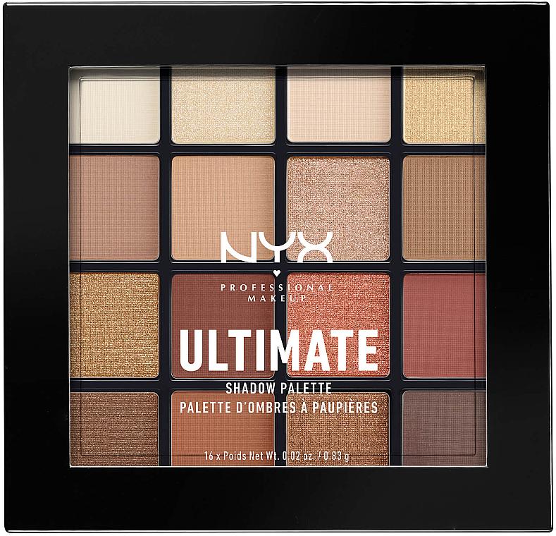 Lidschattenpalette - Nyx Professional Makeup Ultimate Shadow Palette